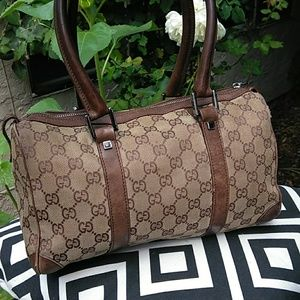 ✴️SALE✴️Gucci Monogram Boston Bag